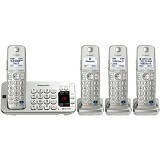 PANASONIC Cordless Phone [KX-TGE274] - Silver - Wireless Phone